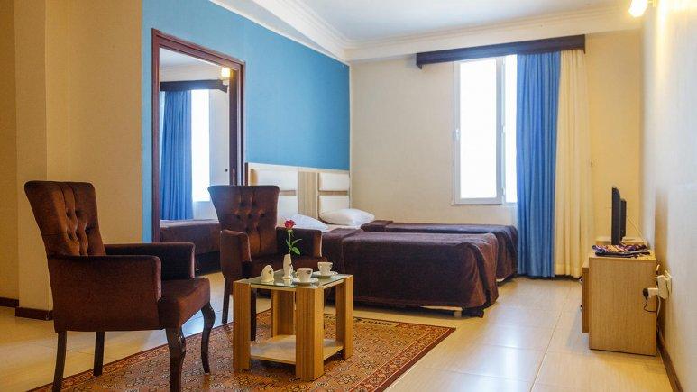 هتل سینگو درگهان سوئیت یک خوابه چهار تخته