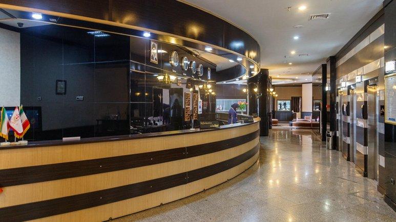 هتل فرهنگ و هنر مشهد پذیرش