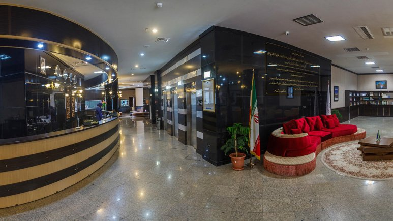 هتل فرهنگ و هنر مشهد لابی 1