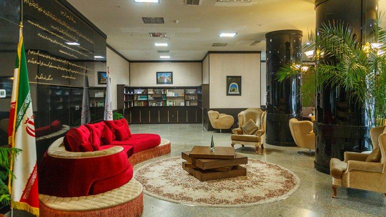 هتل فرهنگ و هنر مشهد لابی 2