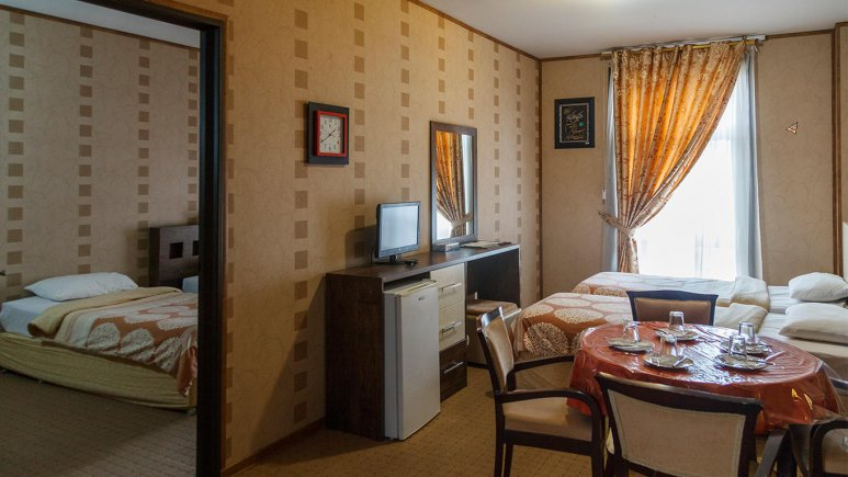هتل فرهنگ و هنر مشهد سوئیت