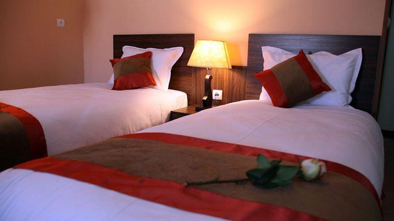 اتاق دو تخته تویین هتل حجاب