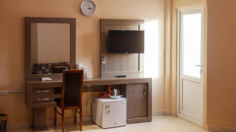 هتل ارم قشم فضای داخلی اتاق ها