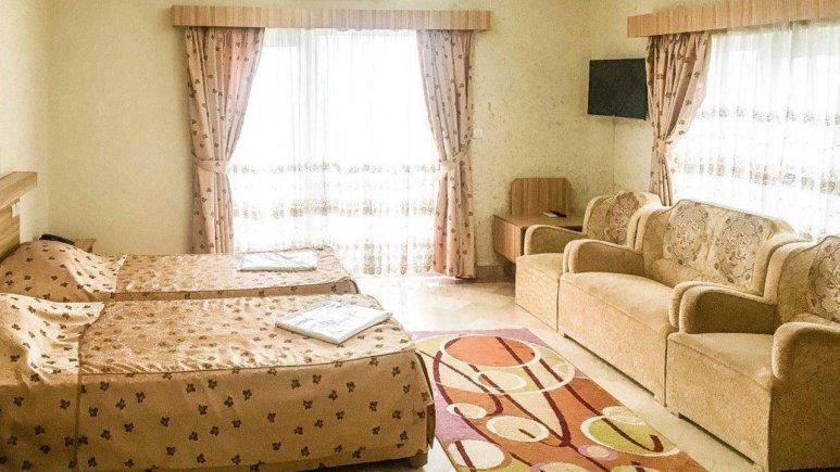 هتل عرش نوشهر فضای داخلی سوئیت ها 2