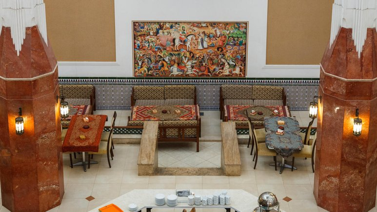 هتل پارسیان صفاییه یزد فضای داخلی 4