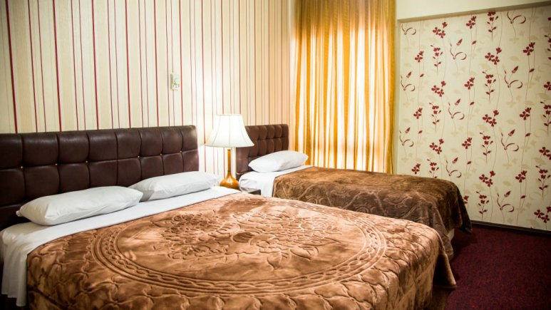 هتل رضویه مشهد اتاق سه تخته 3