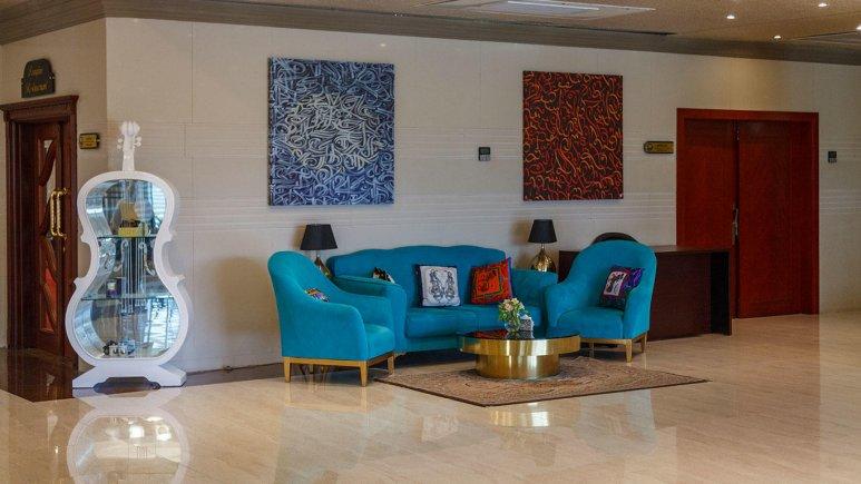 هتل ایران کیش لابی 6