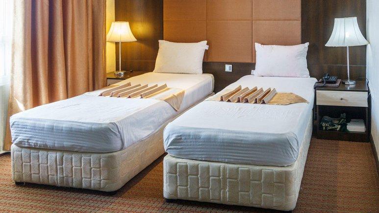 هتل ایران کیش اتاق دو تخته تویین 2
