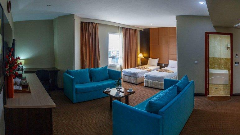 هتل ایران کیش اتاق دو تخته تویین 3