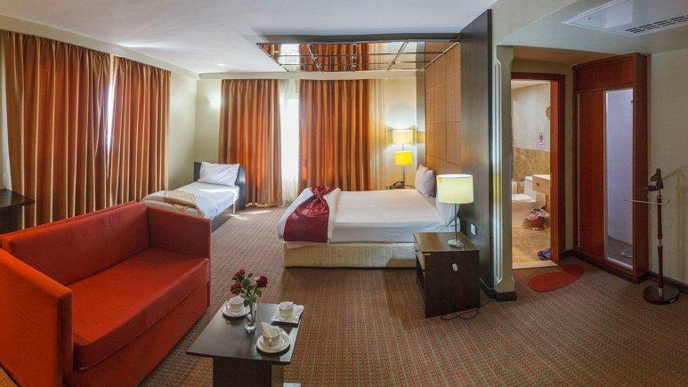 هتل ایران کیش اتاق سه  تخته 2