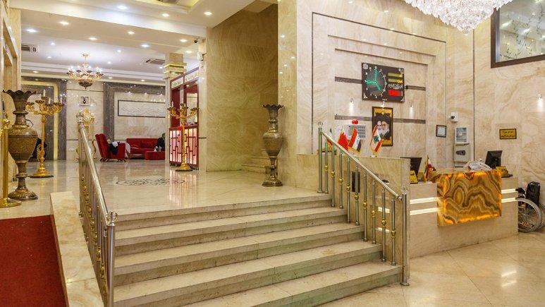 هتل سراج مشهد لابی