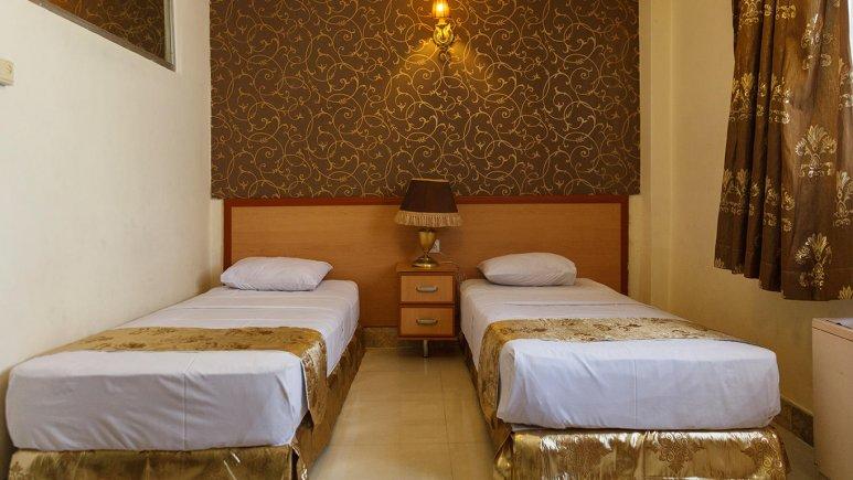 هتل کوثر مشهد اتاق دو تخته تویین