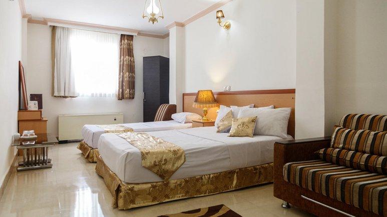 هتل کوثر مشهد اتاق سه تخته 1