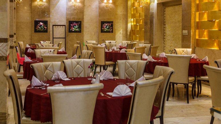 هتل الماس مشهد رستوران