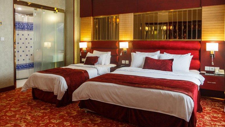 هتل الماس مشهد اتاق سه تخته رویال