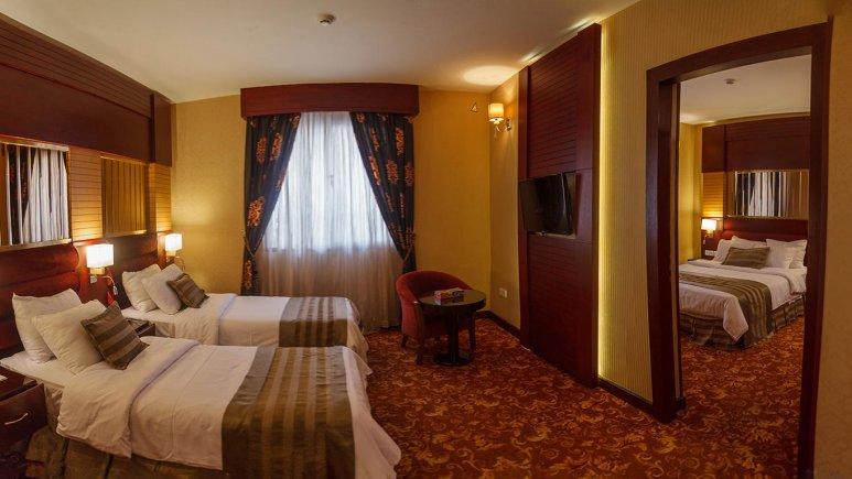 هتل الماس مشهد سوئیت یک خوابه چهار تخته 1