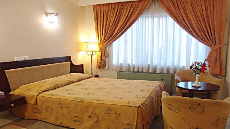 اتاق دو تخته دبل هتل جهانگردی سمنان