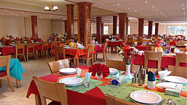 رستوران  هتل جهانگردی سمنان
