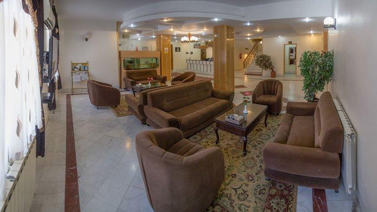لابی هتل جهانگردی بسطام