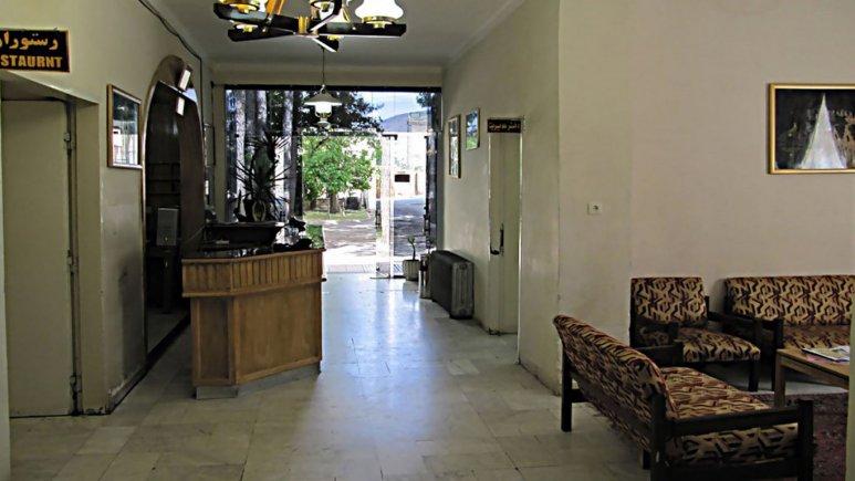 لابی هتل جهانگردی استهبان