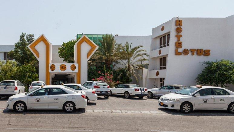 هتل لوتوس کیش نمای بیرونی