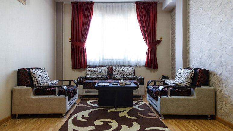 هتل آپارتمان آرین شیراز فضای داخلی آپارتمان ها 2