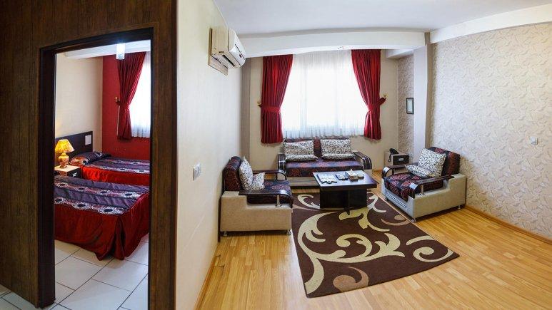 نمای آپارتمان هتل آرین