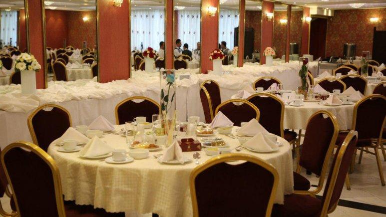 هتل سیمرغ تهران رستوران