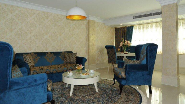 هتل سیمرغ تهران سوئیت دو تخته رویال غربی