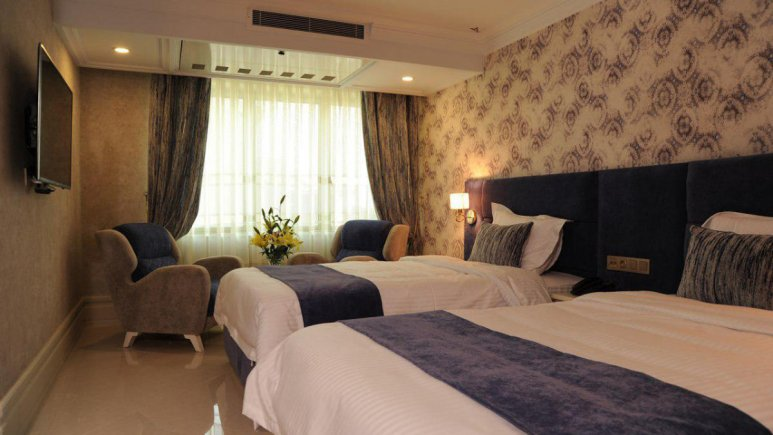 هتل سیمرغ تهران اتاق دو تخته تویین 1