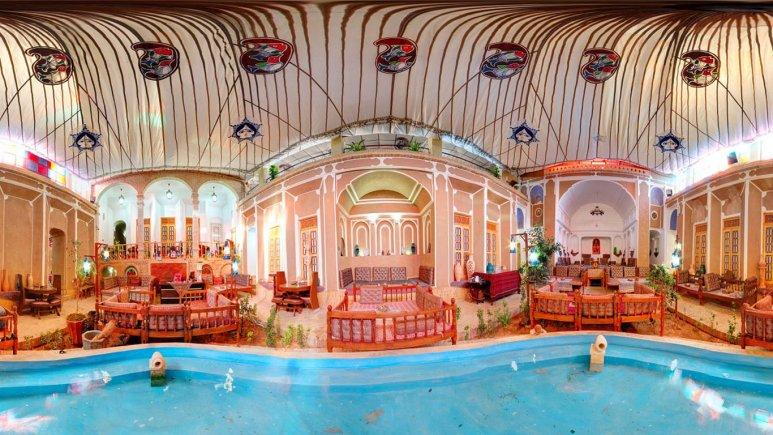 رستوران هتل حاج ملک