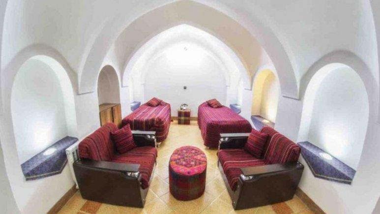 اتاق دو تخته تویین هتل حاج ملک