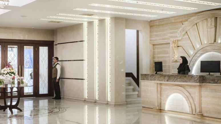 هتل حلما مشهد پذیرش