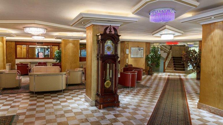 لابی هتل سینا تبریز