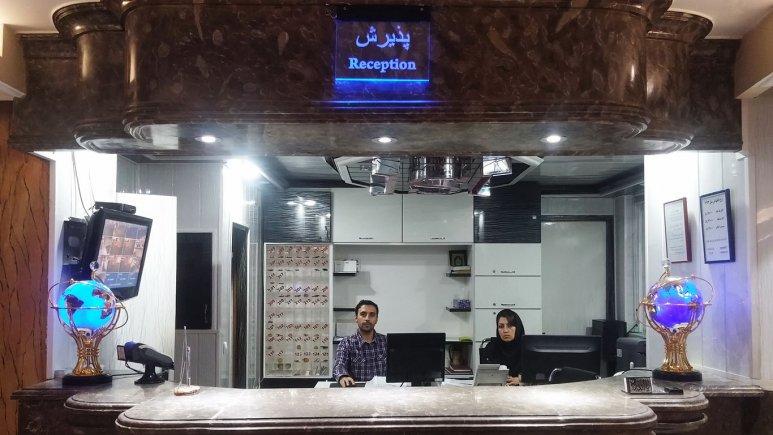 پذیرش هتل سینا تبریز