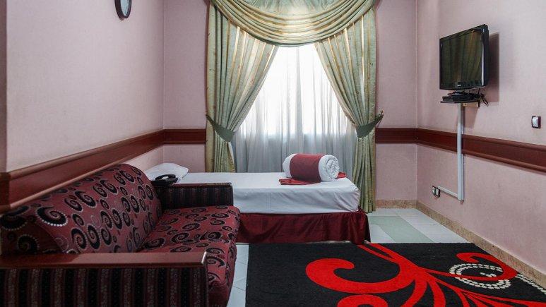 هتل آپارتمان فیروزه توس مشهد فضای داخلی اتاق ها