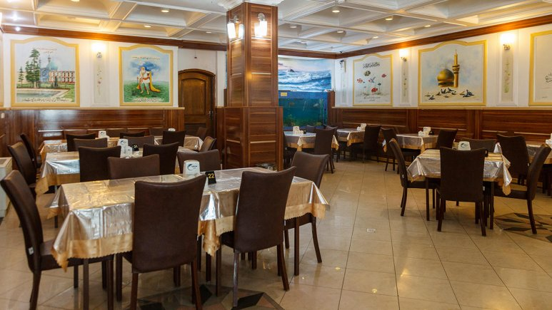 هتل صادقیه مشهد رستوران