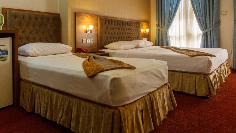 هتل صادقیه مشهد اتاق سه تخته