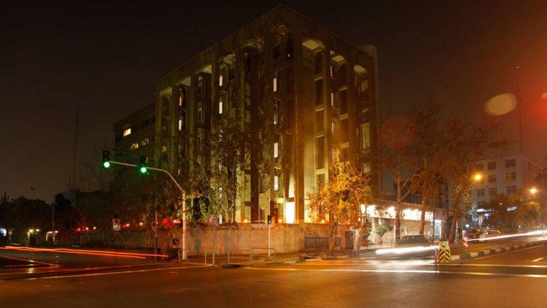 هتل البرز تهران نمای بیرونی