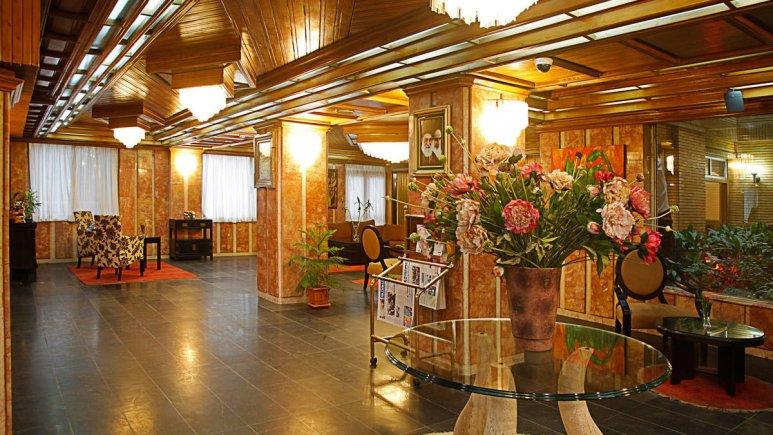 هتل البرز تهران لابی 1