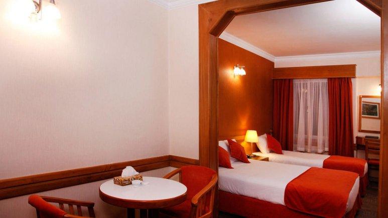 هتل البرز تهران سوئیت سه تخته 1