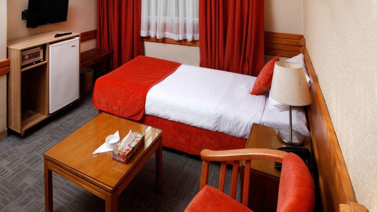 هتل البرز تهران اتاق یک تخته
