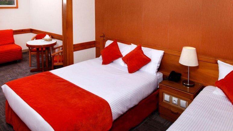 هتل البرز تهران سوئیت سه تخته 3