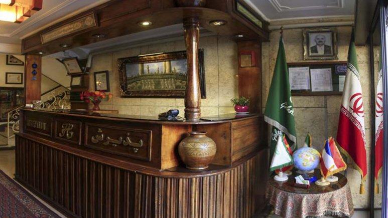 پذیرش  هتل گلستان