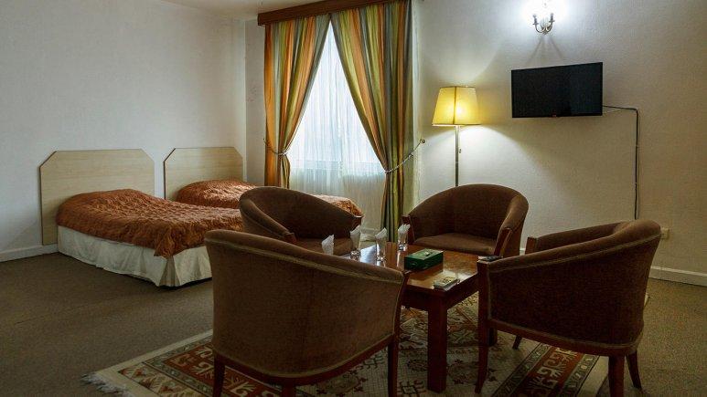 هتل سان رایز کیش اتاق دو تخته تویین 3