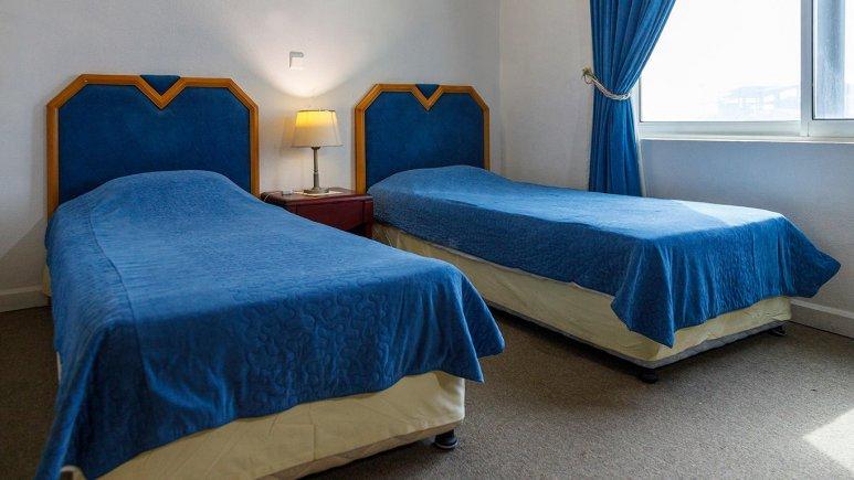 هتل سان رایز کیش اتاق دو تخته تویین 2