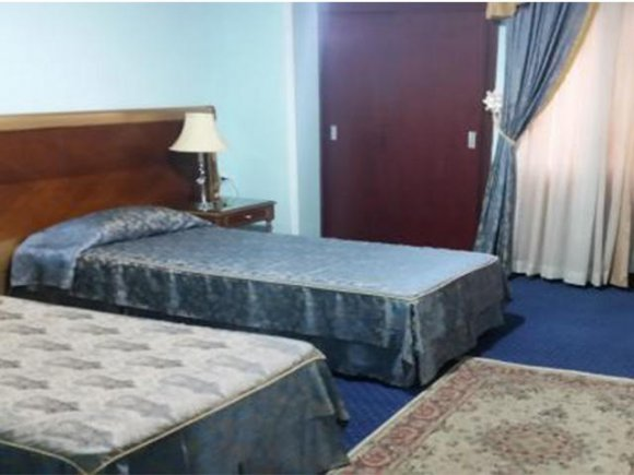 اتاق دو تخته توئین هتل آزادگان کرمانشاه