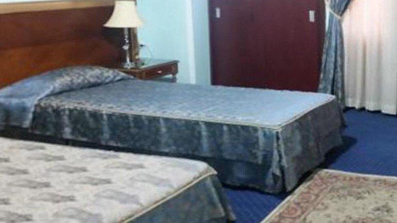 هتل آزادگان کرمانشاه اتاق دو تخته تویین