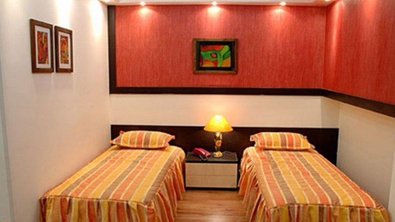 اتاق دو تخته هتل  پاریز