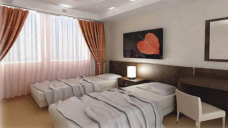 اتاق دو نفره سینگل هتل پارسیان آزادی آبادان